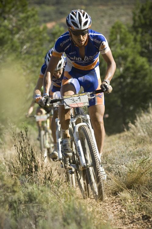 ABSA Cape Epic 2010 - 4.etapa: Emil Lindgren
