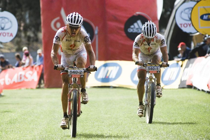 ABSA Cape Epic 2010 - 4.etapa: Stanislav Derfl a Radek Zelenka