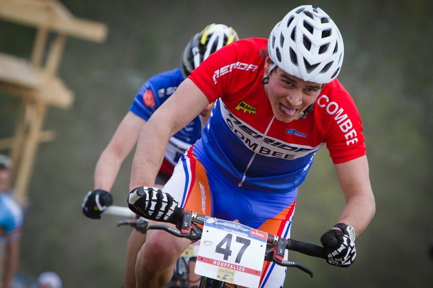 Van Der Heijden se na druhé vítězství nadřel