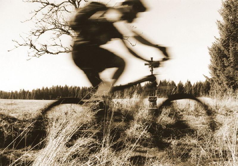 Bikeři v Křivoklátsku
