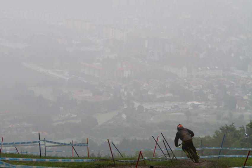 Maribor se tentokrát schovával v oparu
