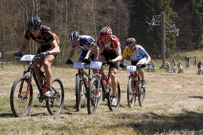 Ze závodů 2010