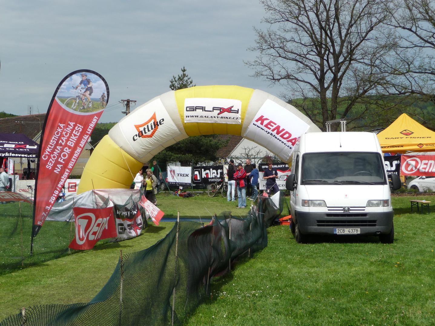 Galaxy CykloŠvec maraton Tálín 2010