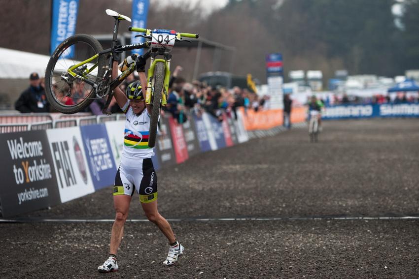 Irina Kalentieva vítězí