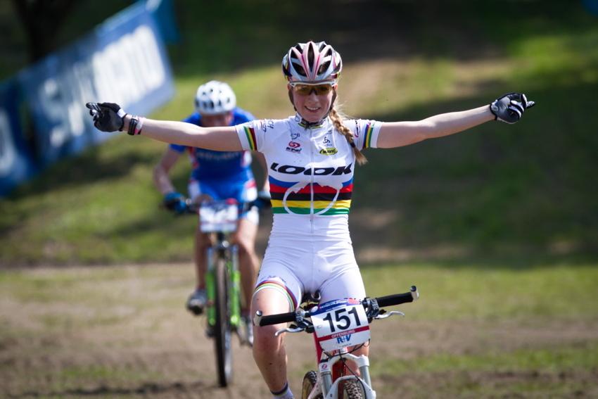 Pauline Prevot vítězí