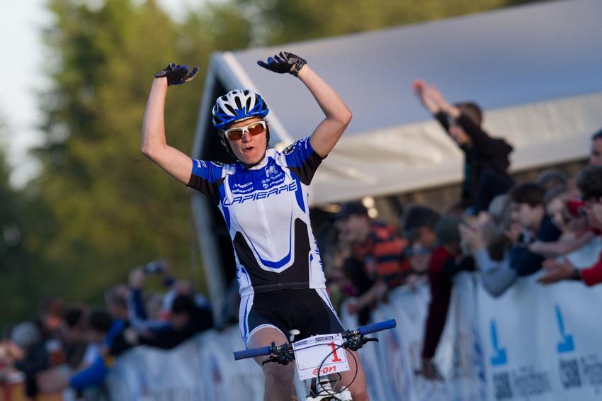 Cecile Ravanel vítězí