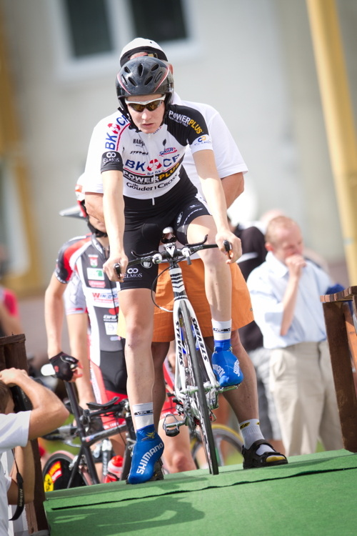 Cyklokrosař Lubomír Petruš v kategorii do 23 let