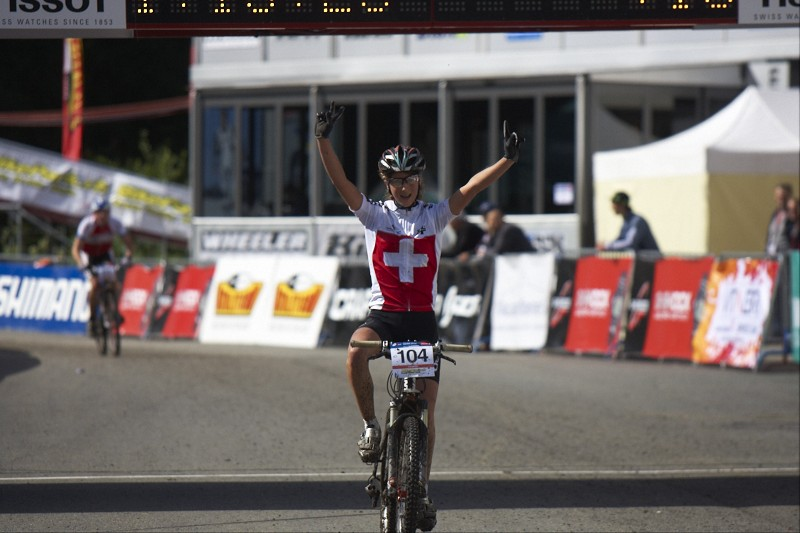 nejrychlejší juniorka Jolanda Neff