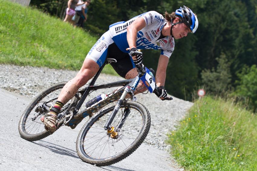 Jiří Hudeček byl absolutně nejrychlejším bikerem