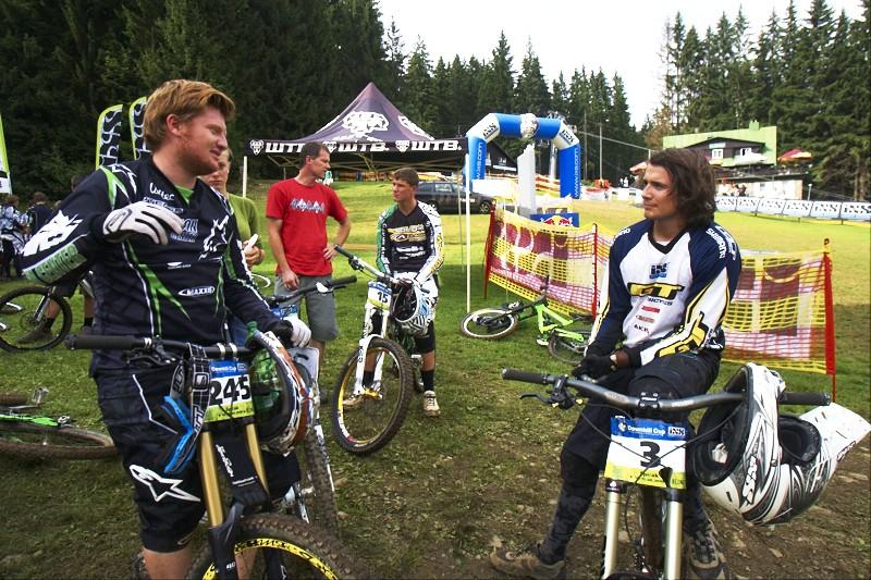 Marcel Beer v rozhovoru po vyhrané kvalifikační jízdě