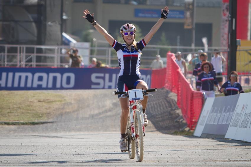 Pauline Ferand Prevot vítězí