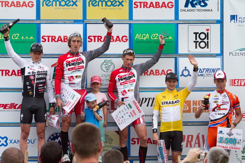 1.Spěšný, 2.Friedl, 3.Ulman, 4.Škarnitzl, 5.Eberl