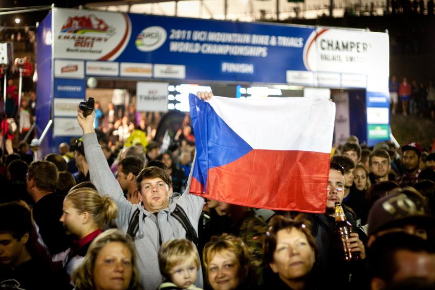 čeští fanoušcií
