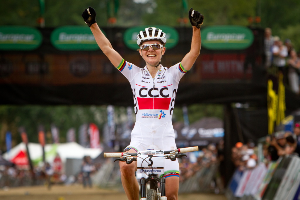 Maja Wloszczowska vítězí