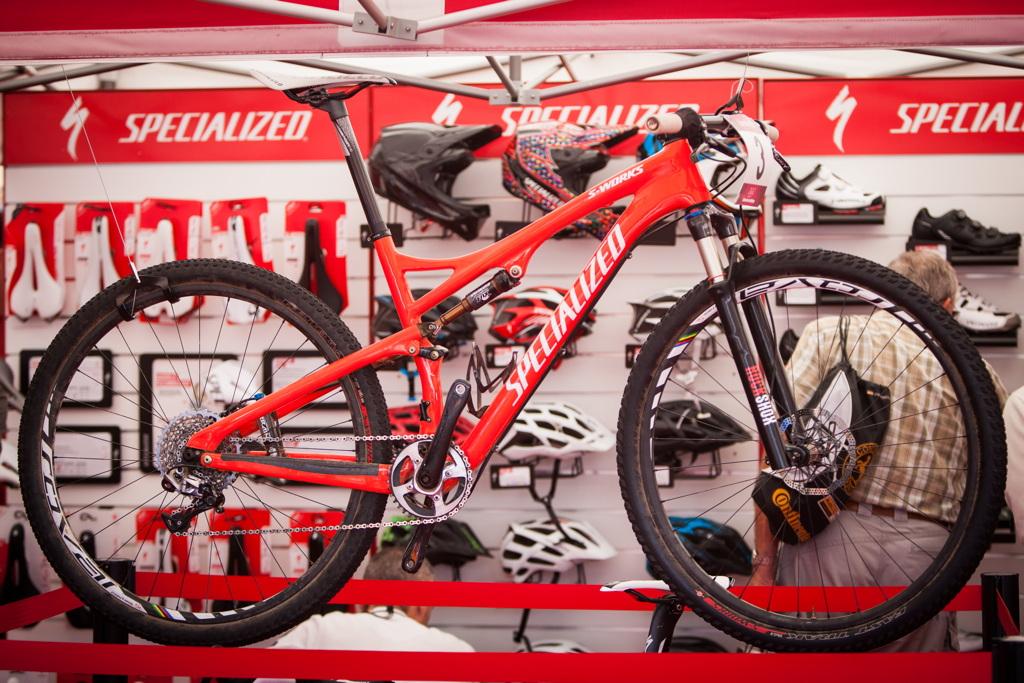 bike olympijského vítěze