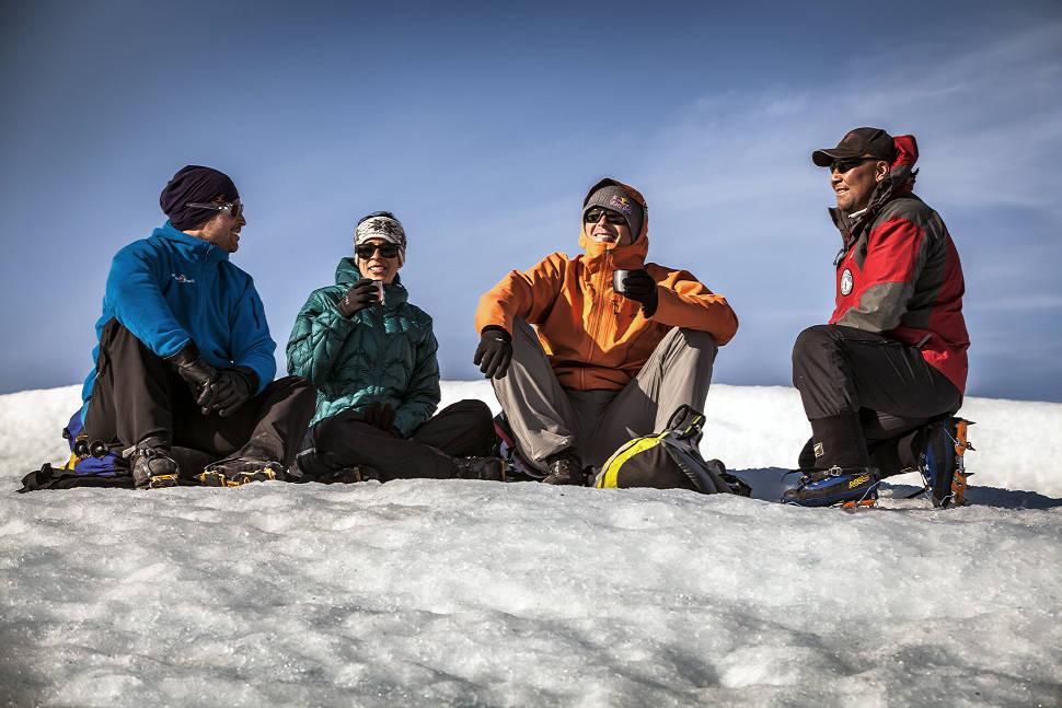 Petr Kraus v Grónsku na pěší výpravě