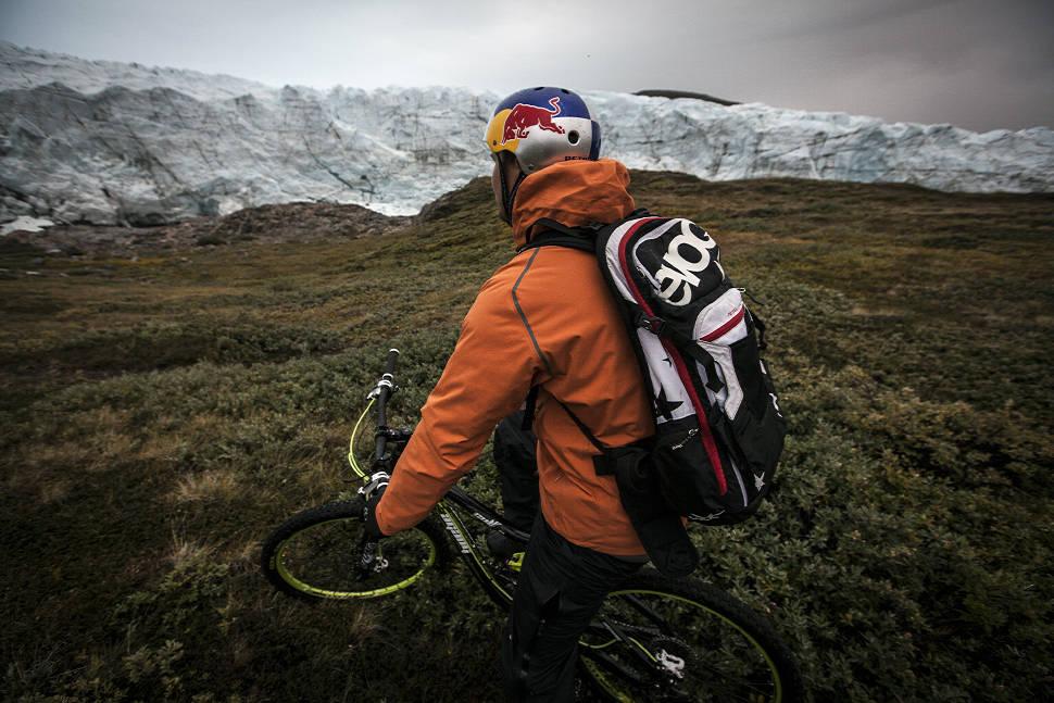 Petr Kraus v Grónsku u Russel Glacier