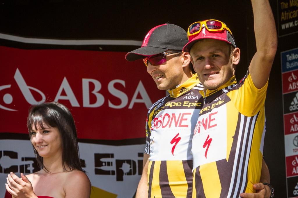 Burry Stander: 5. etapa Cape Epic 2011 a úsměv drží