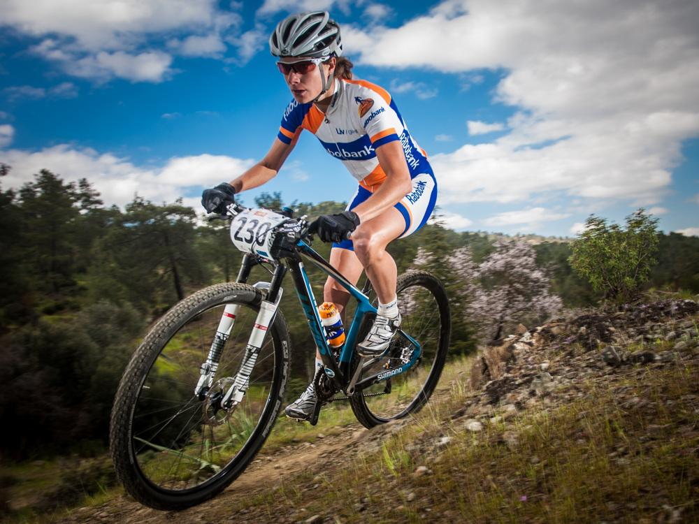 Marianne Vos poprvé závodí na horském kole