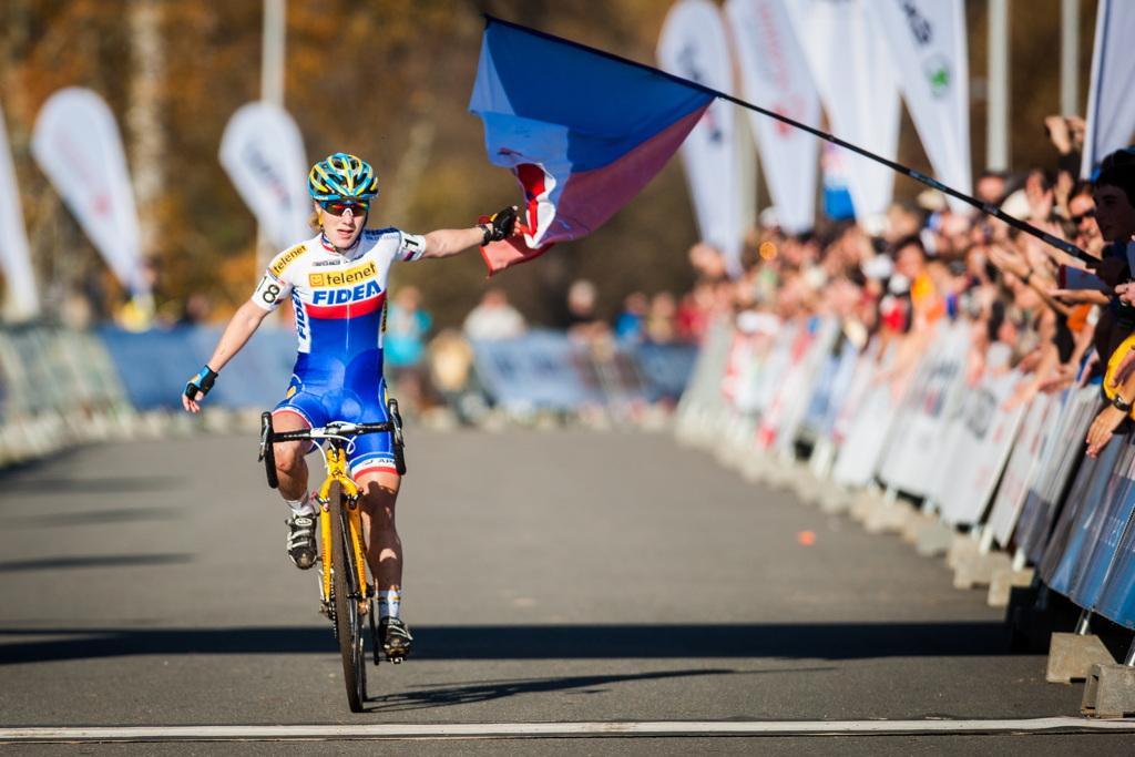 Pavla Havlíková si dojíždí pro bronz