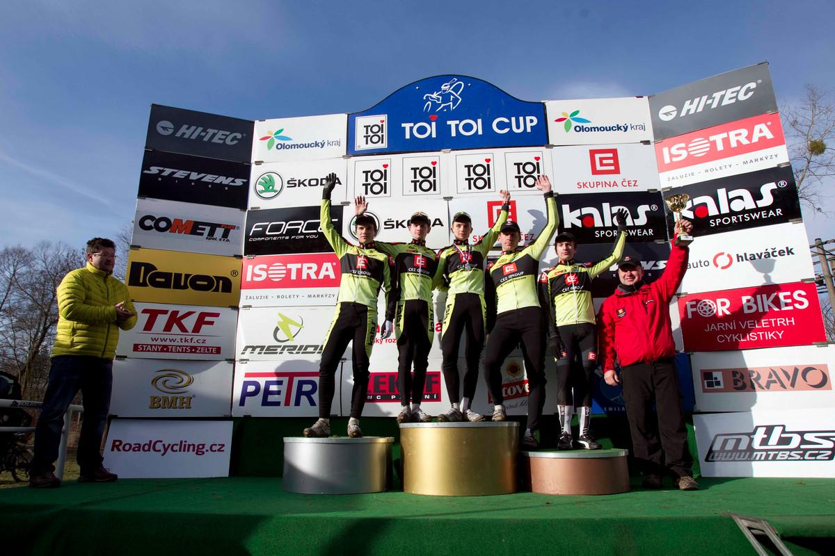 MČR v cyklokrosu, Loštice 2014: nejlepší tým Toi Toi Cupu 2013/2014