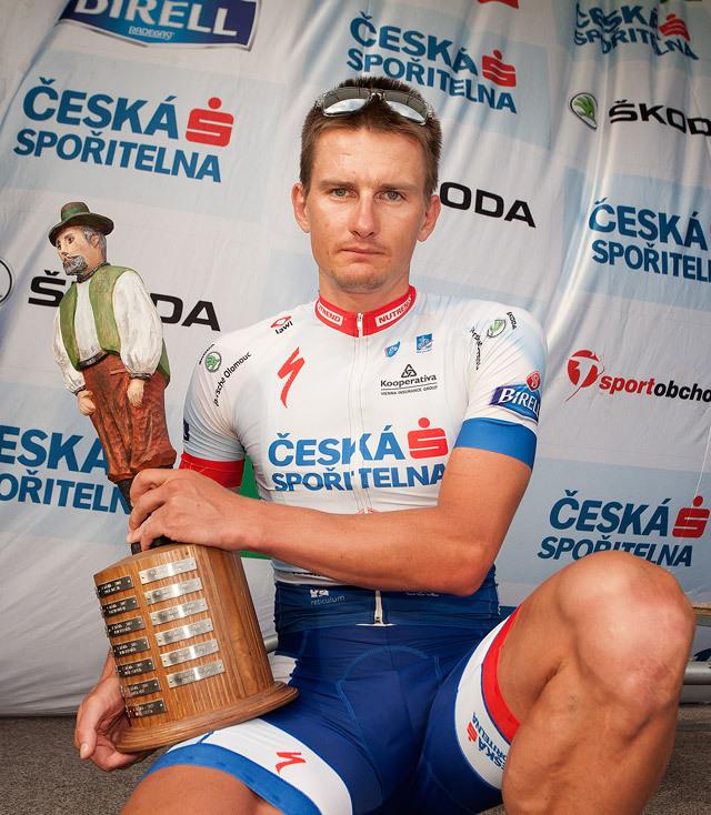 Drásal 2014: Pavel Boudný s trofejí