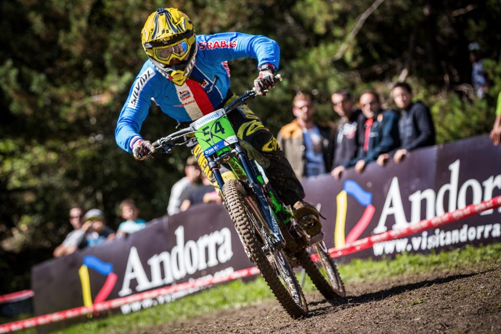 junior Tomáš Navrátil skončil na 20. místě