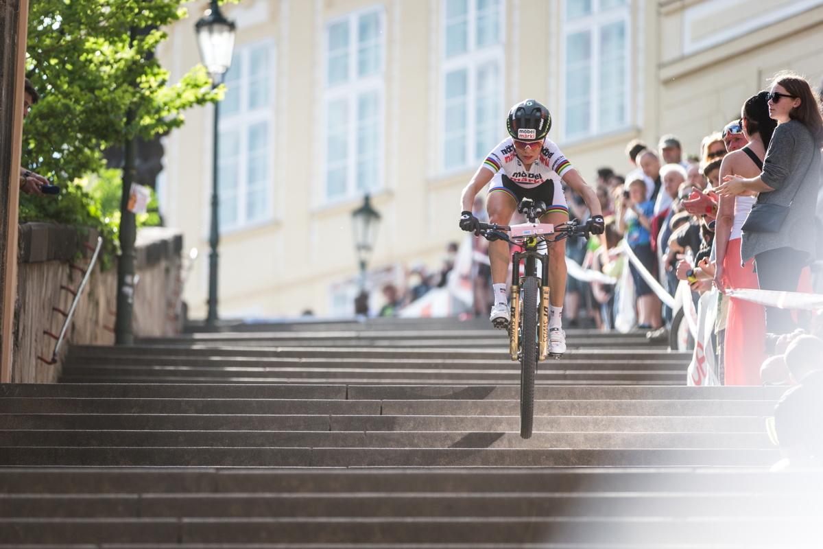 Irina Kalentieva poprvé na Pražských schodech