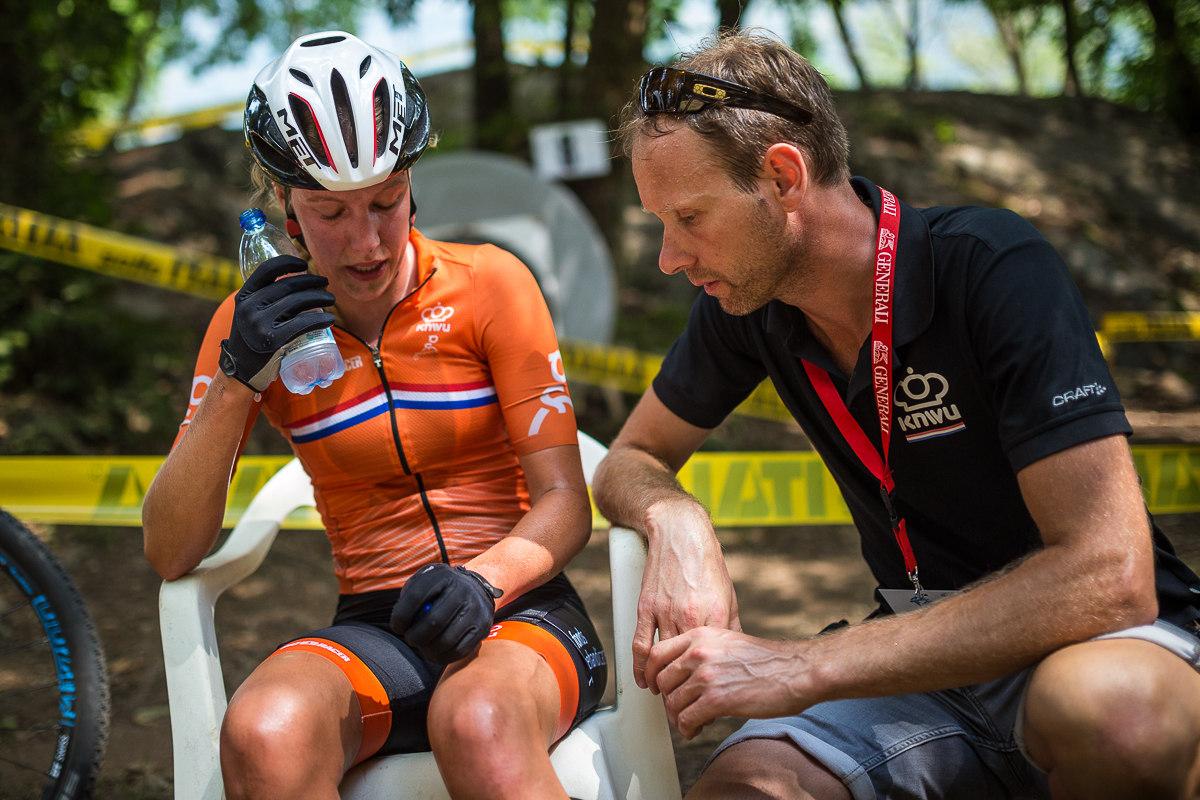 Mistryně světa U23 v cyklokrosu Anemarie Worst nedokončila