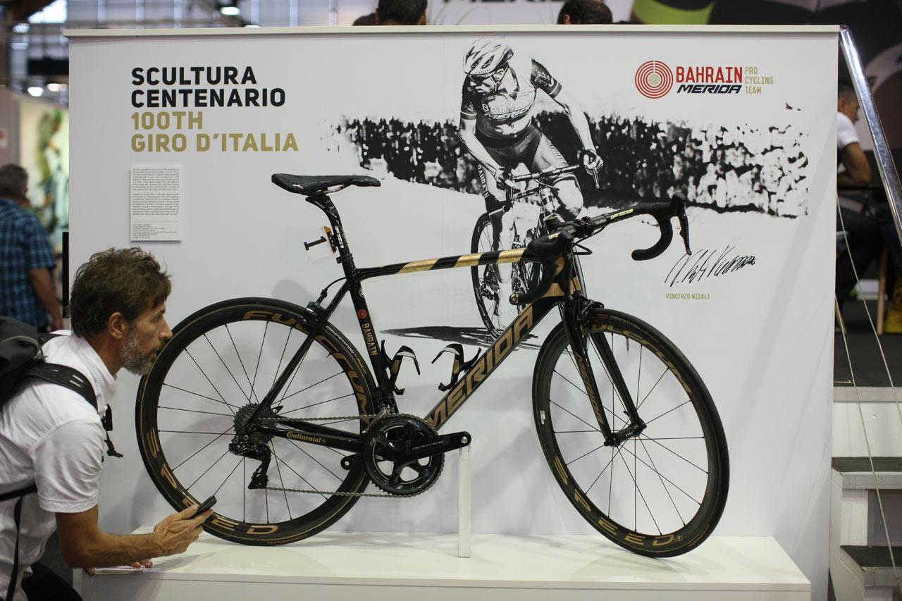 Eurobike 2017 - Merida Vincenza Nibaliho