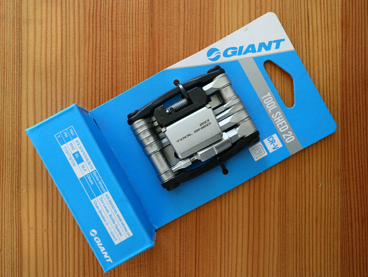 Přehled multiklíčů Giant