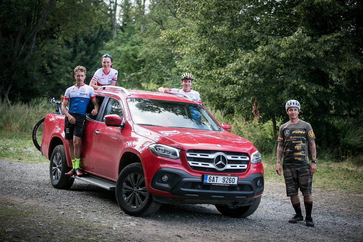 Gaspi - coaching - Zadov 2018 - díky Mercedes-Benz X