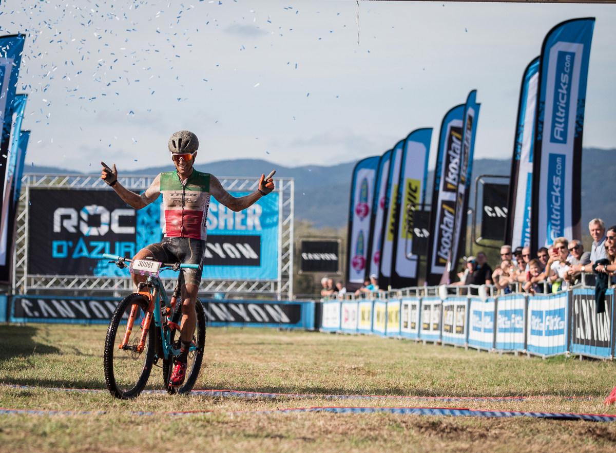 Roc d'Azur 2018 - vítěz maratonu Samuele Porro
