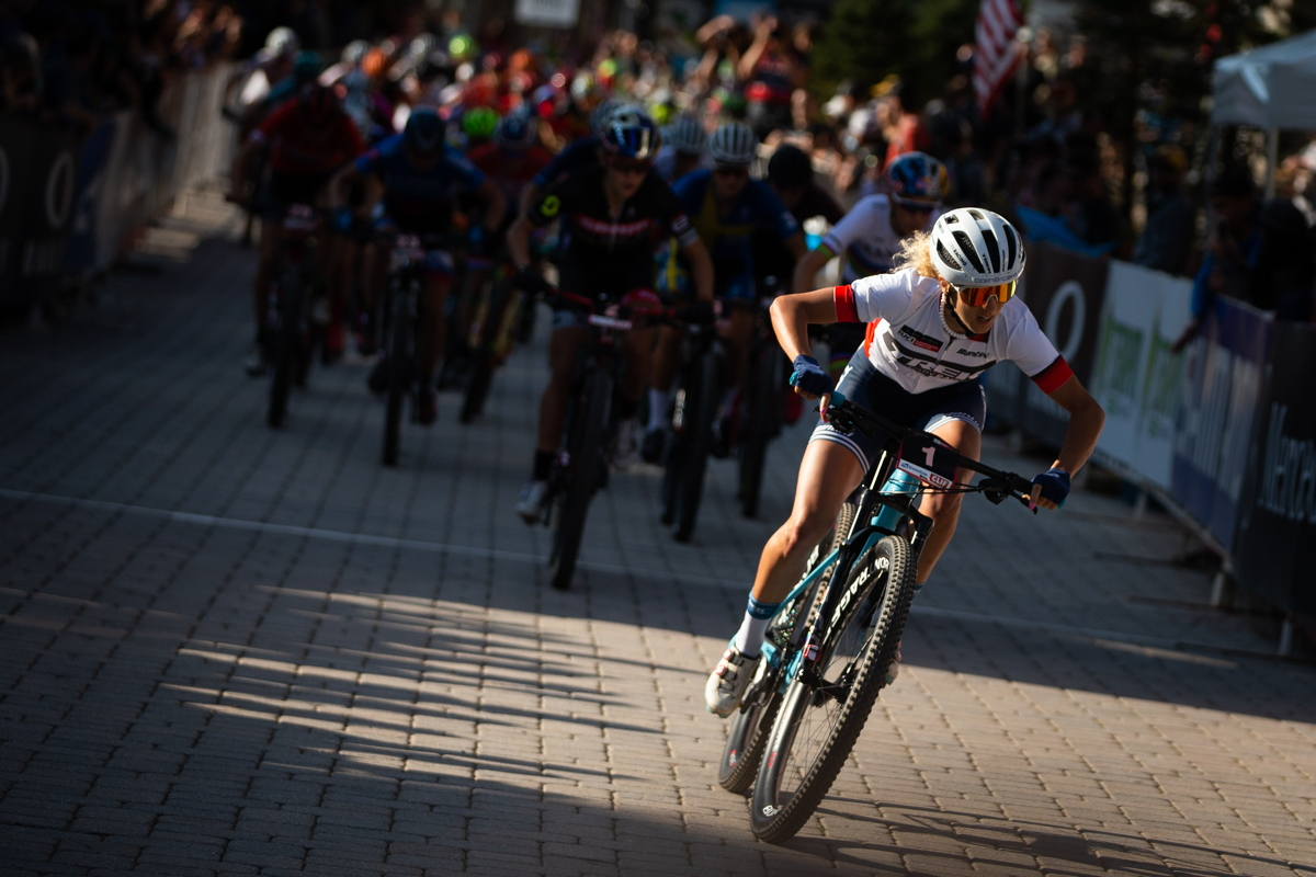 Jolanda Neff od startu nejrychlejší