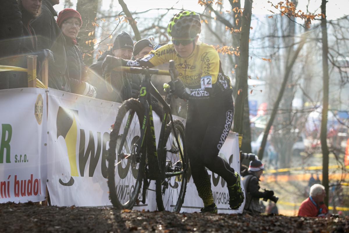Druhý cyklokrosový závod Terezy Tvarůžkové