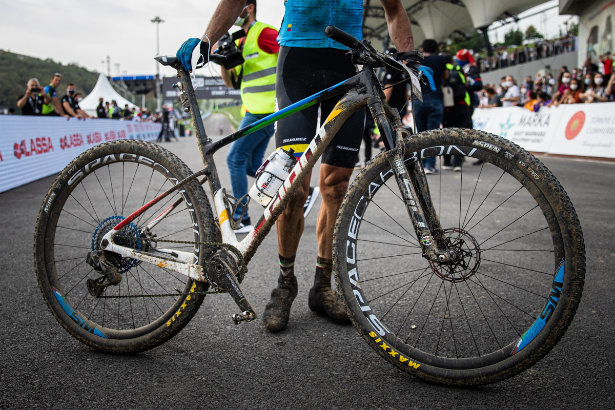 vítězný bike Hectora Leonarda Paeze