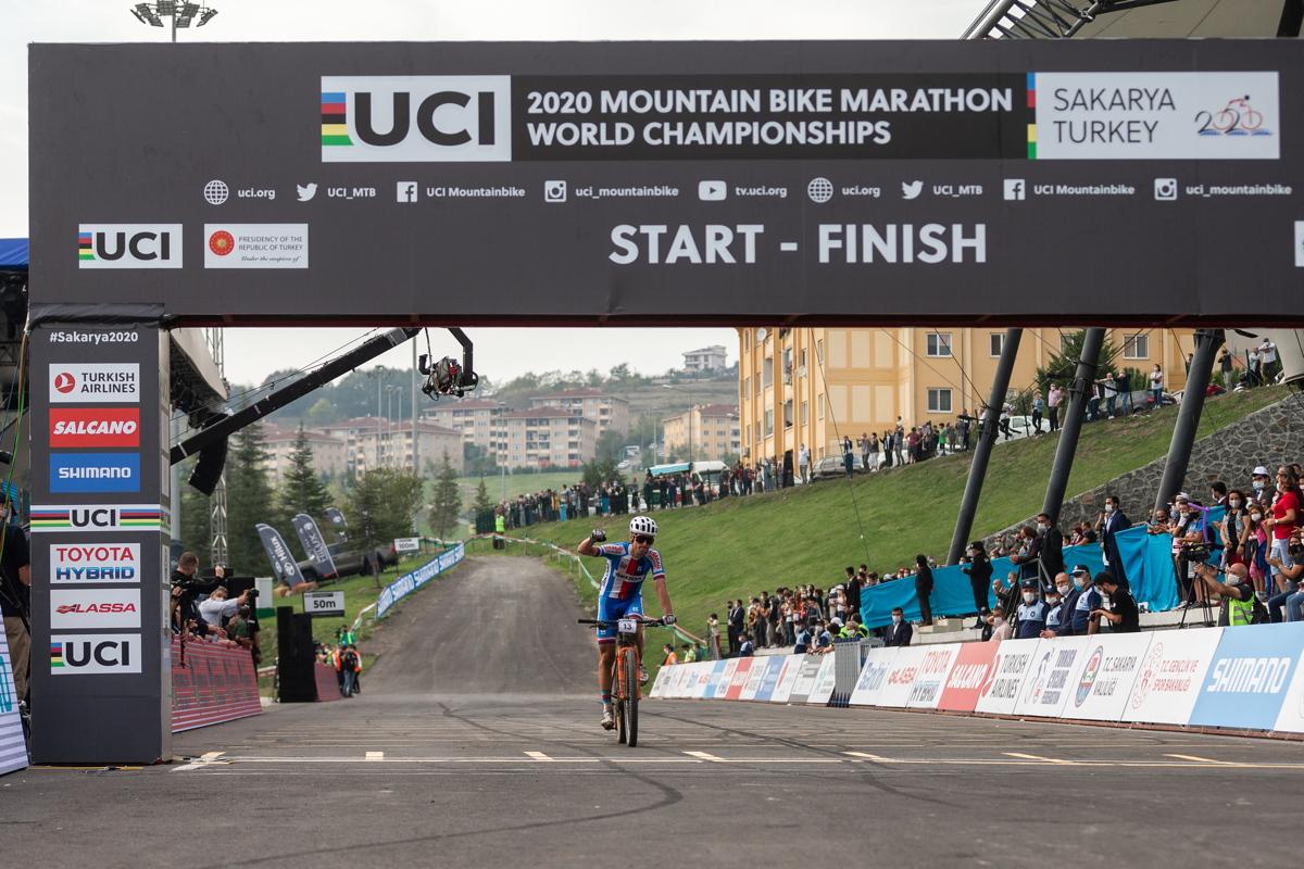 Martin Stošek dojíždí pro bronz
