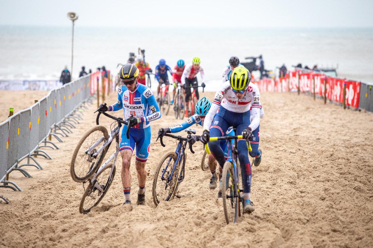 MS Cyklokros 2021 - Robert Hula a Jakub Říman