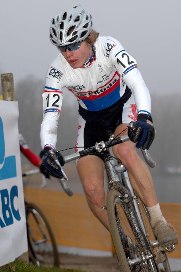 Jiří Polnický - Světový pohár v cyklokrosu - junioři - Hofstade (BEL)