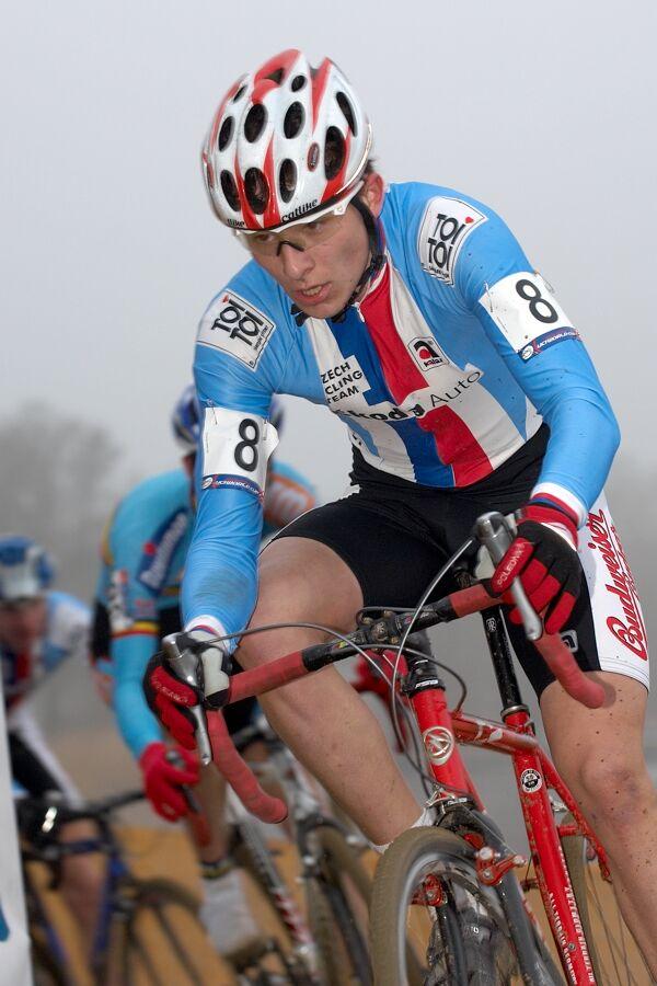 Filip Adel - Světový pohár v cyklokrosu - junioři - Hofstade (BEL)