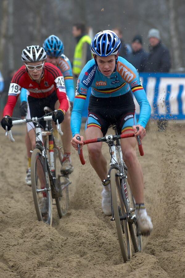 Joeri Adams, Ale Quast - Světový pohár v cyklokrosu - junioři - Hofstade (BEL)
