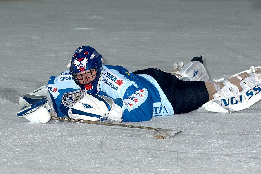 Opora týmu Česká spořitelna, Patrik Zamazal - Cyklistický superpohár 2006 v hokeji, Mor. Třebová