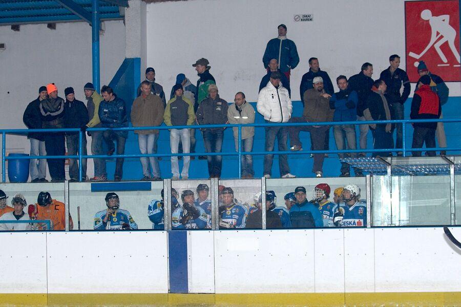 I pár diváků se našlo - Cyklistický superpohár 2006 v hokeji, Mor. Třebová