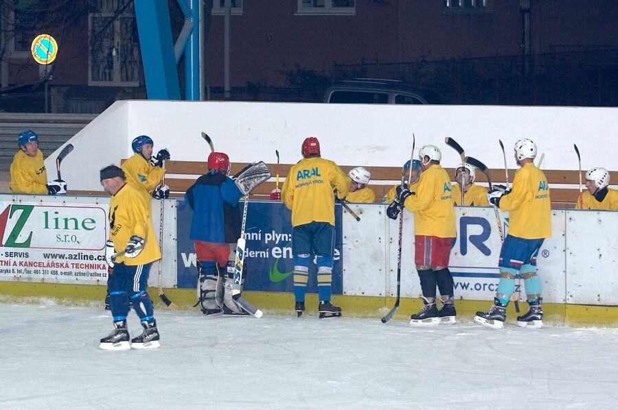 Výběr Mor. Třebové - Cyklistický superpohár 2006 v hokeji, Mor. Třebová