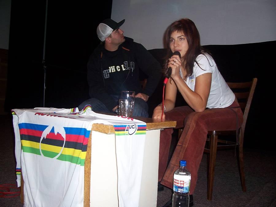Debata s Terezou Hu��kovou a Michalem Prokop, 24.11.2006 Vimperk