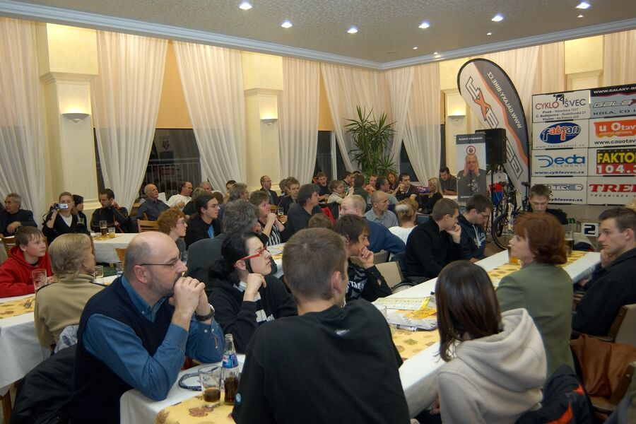 Vyhlášení Galaxy Anlen MTB série  a Jihočeské amatérské ligy v Písku, 2006