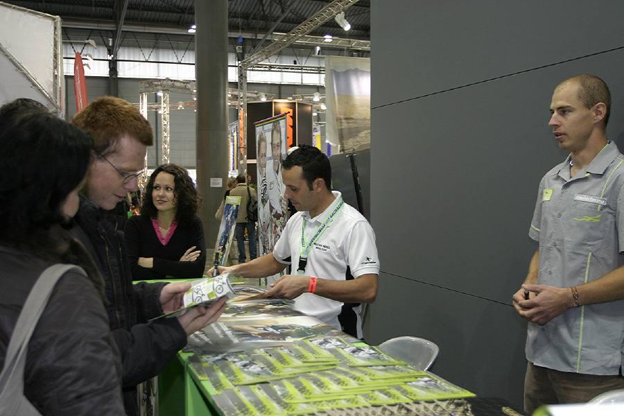 Jose Antonio Hermida Ramos - Jose při autogramiádě na veletrhu Sport Life 2006