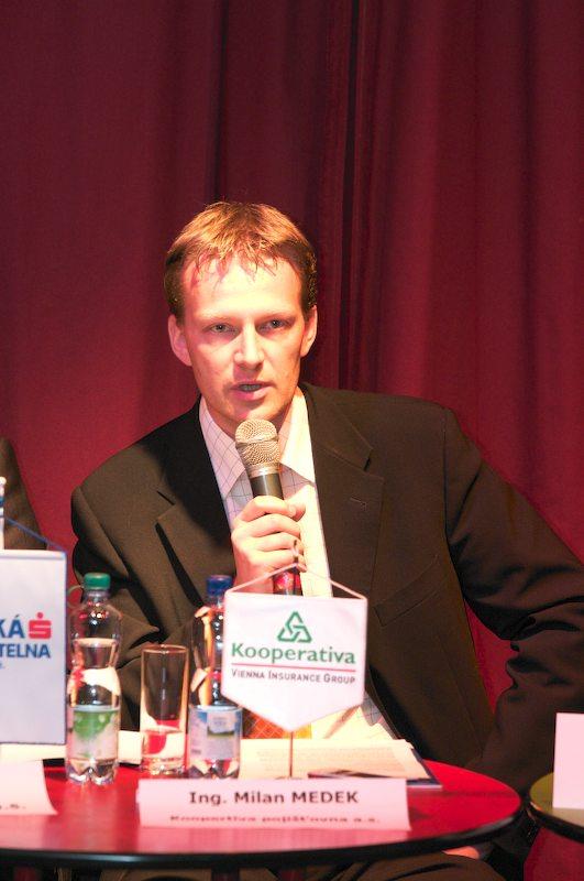 Tisková konference České spořitelny Kolo pro život a MTB Team, 18.4. 2007, Praha - Limonádový Joe - Milan Medek (Kooperativa)