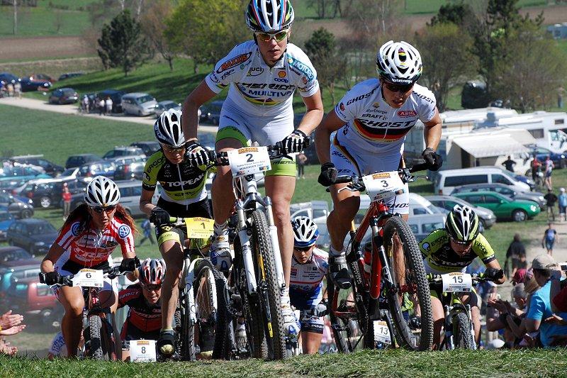 XC Munsingen 07 - ženy po startu