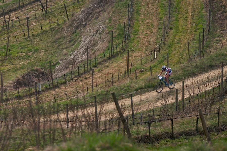 Kamptal-Klassik-Trophy, 1.4.2007, Langenlois/AUT - Tereza ve vinicích